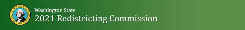 Logo for Washington State Redistricting Commission