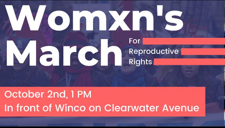 Womxn's March Logo